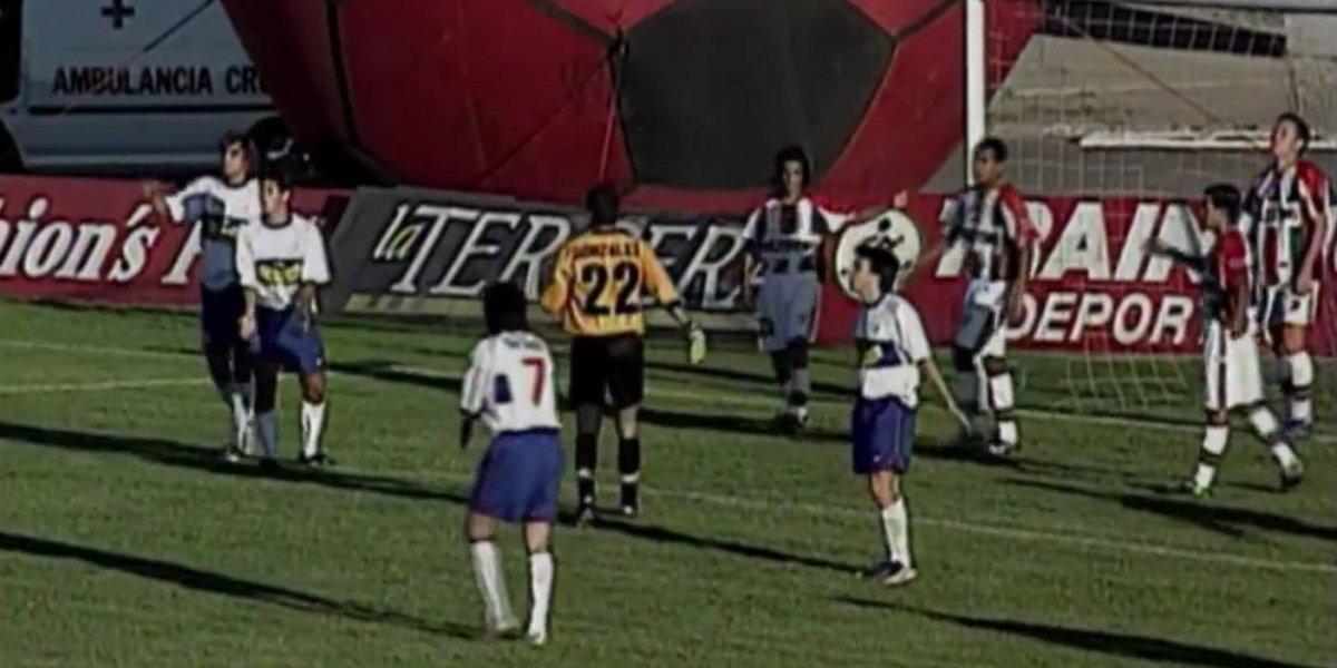 Con Cauteruchi y Villanueva como figuras: así fue el último partido entre Palestino y la UC en La Cisterna
