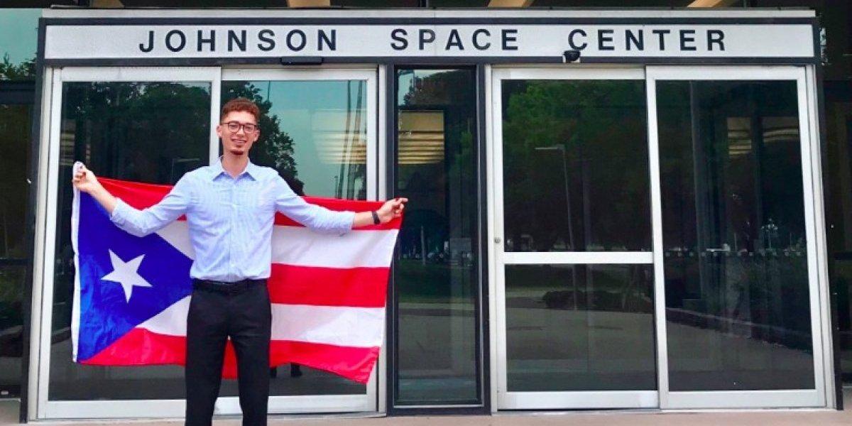 NASA reconoce a estudiante de la UPR-Bayamón