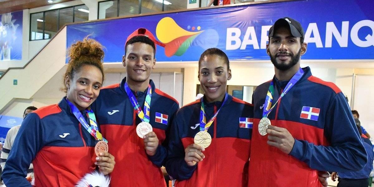 Baño de oro para RD en los Juegos Centroamericanos y del Caribe Barranquilla 2018