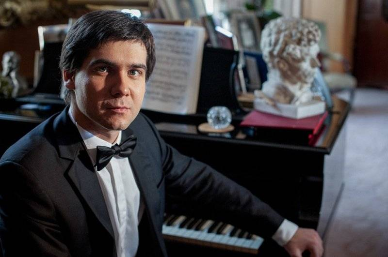Vadym Kholodenko, pianista. fE