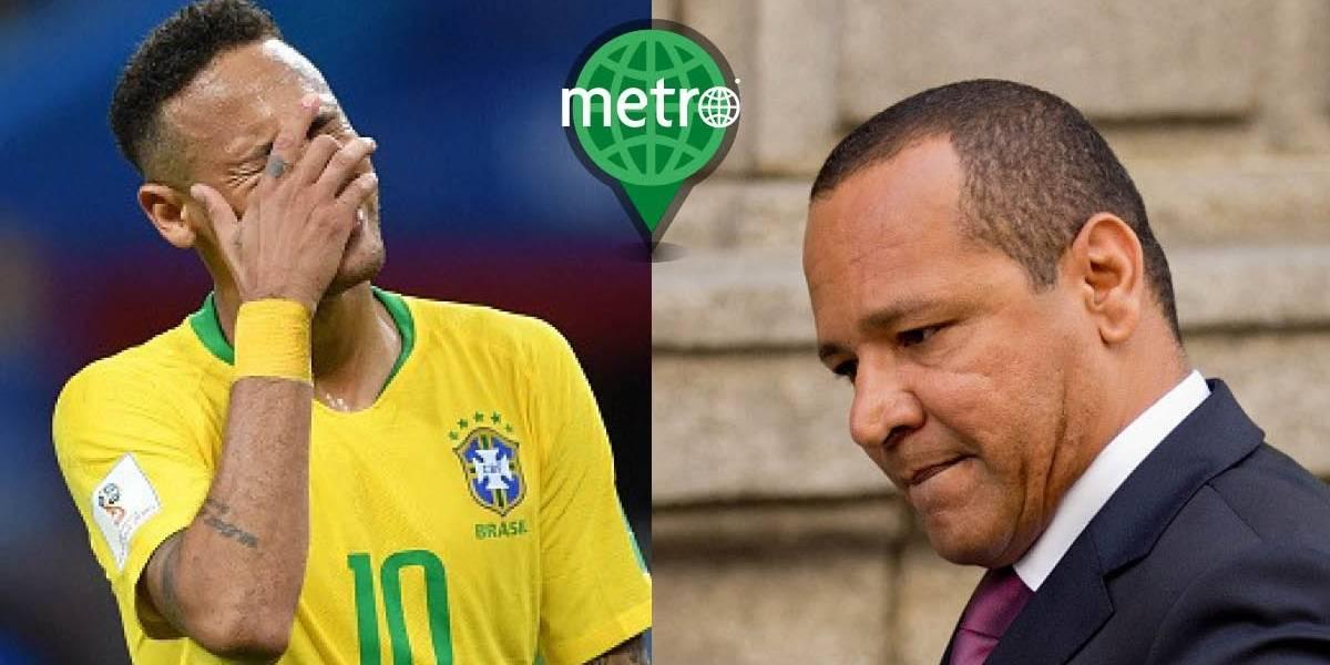 La inapropiada respuesta del padre de Neymar a una periodista brasileña