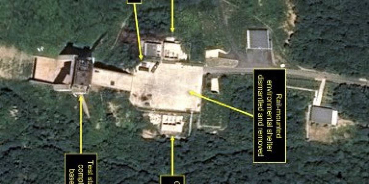 Corea del Norte comienza a desmantelar un sitio de lanzamiento de satélites
