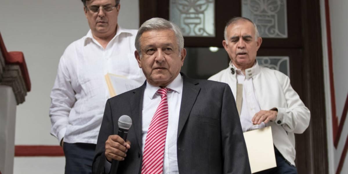 Anuncia Andrés Manuel López Obrador que su gobierno será itinerante