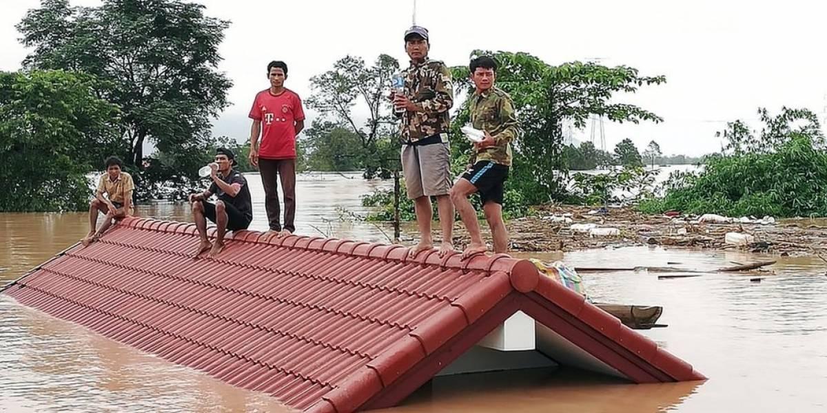 Laos: cientos de desaparecidos tras el colapso de una presa en el sur del país
