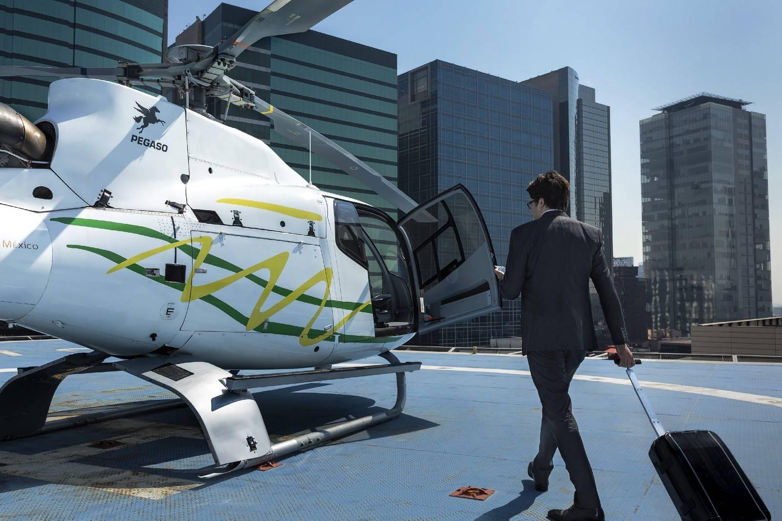 Vuelos en helicóptero Voom