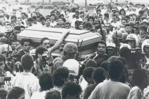 Funeral de Pablo Escobar