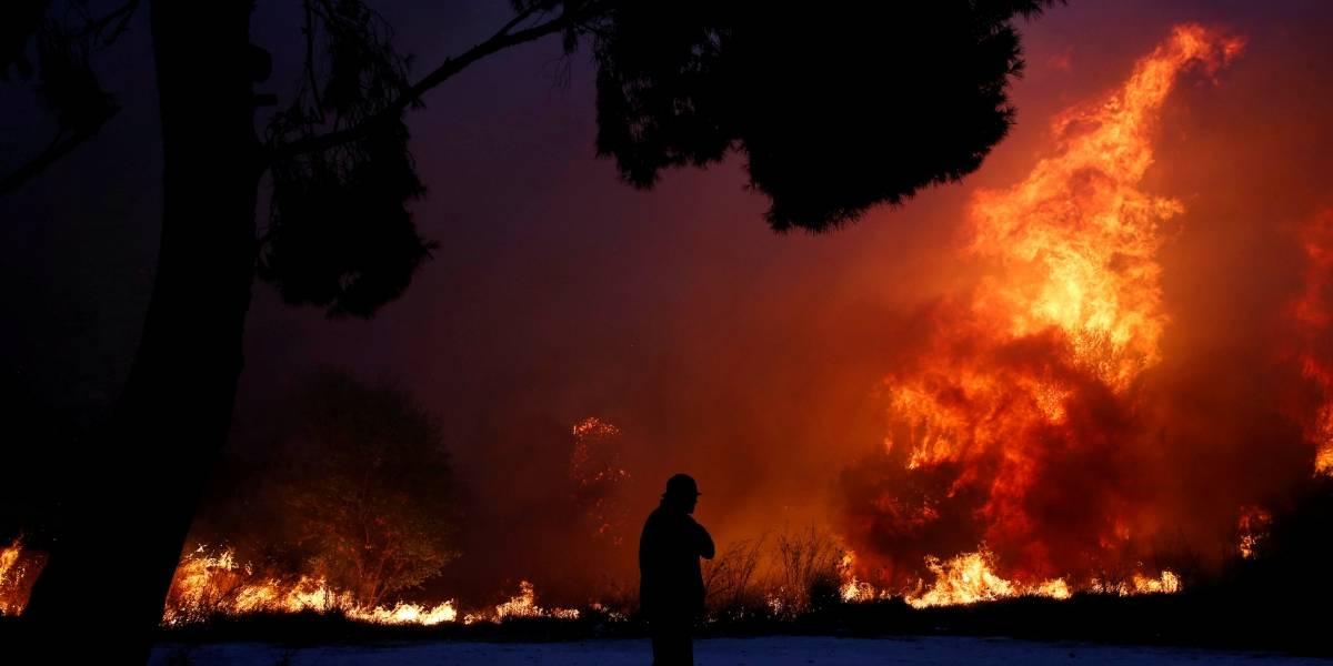 Premier desconfia que incêndios na Grécia tenham sido causados de propósito