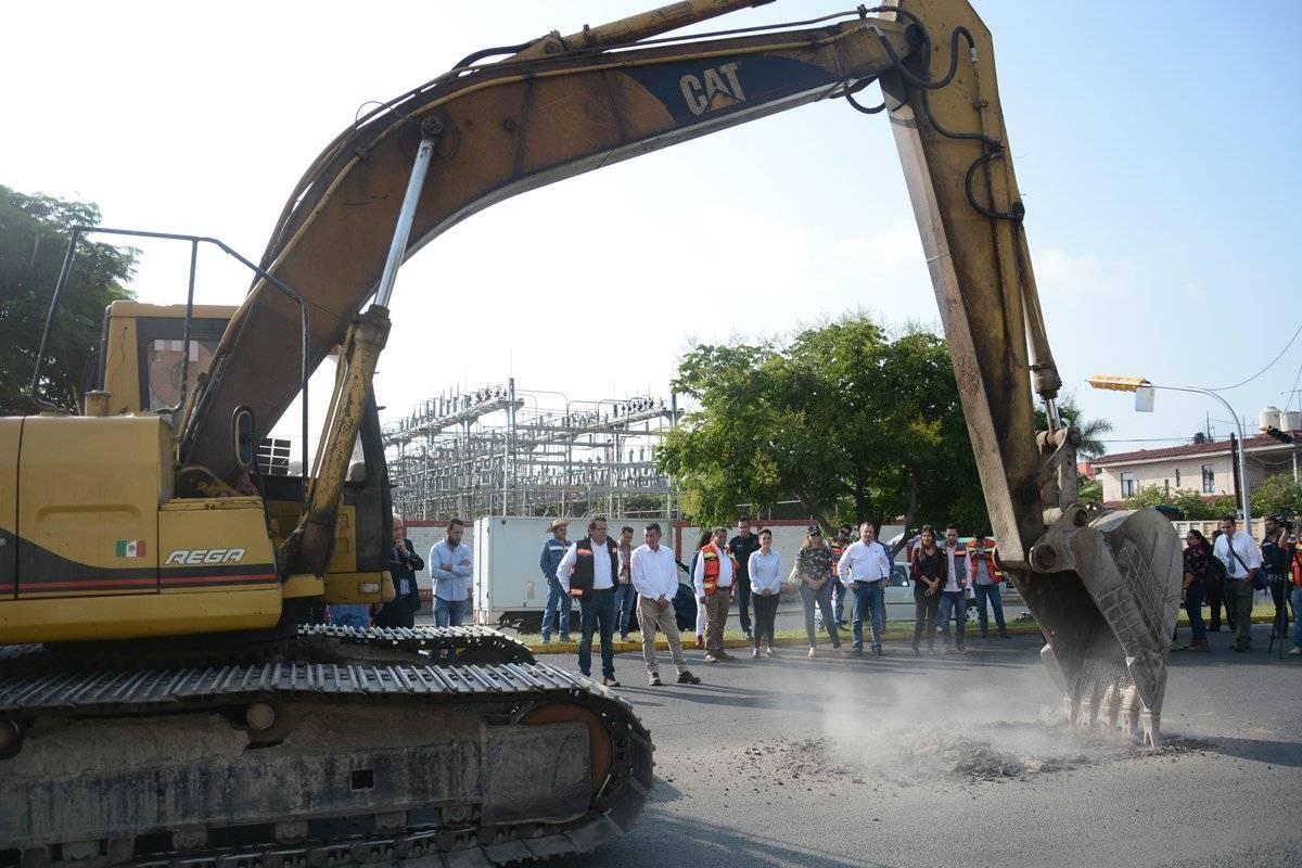 Inician con la repavimentación de avenida Clouthier en Zapopan
