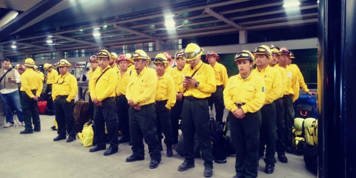 Viajan jaliscienses a Canadá para apoyar ante incendios forestales
