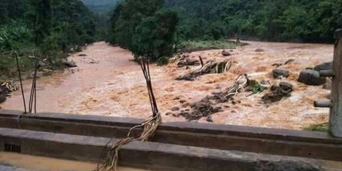 Rompimento de barragem no Laos deixa centenas de desaparecidos