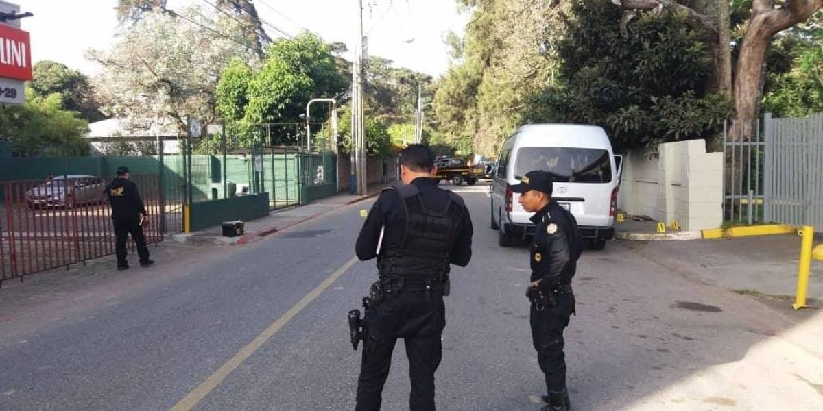 Ataque armado en la zona 10 deja un herido de bala