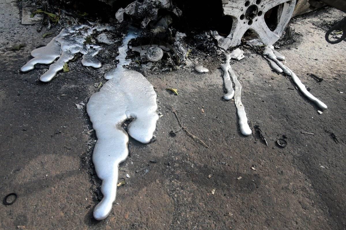 Incendio en Grecia: Encontraron cuerpos calcinados abrazados entre sí (IMPACTANTES FOTOS) EFE