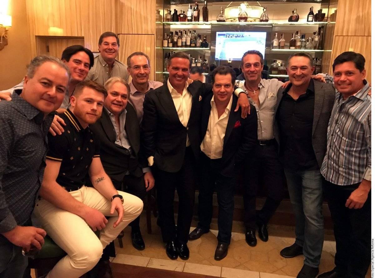 Luis Miguel y sus amigos