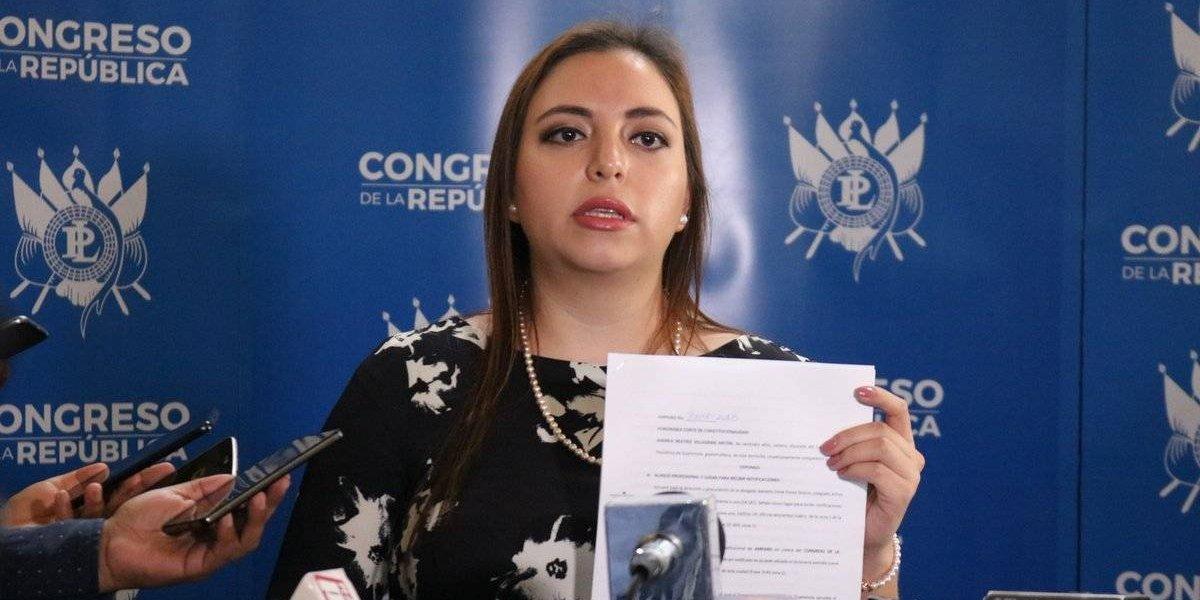 Diputada busca que se retrotraiga el proceso de reformas al financiamiento electoral ilícito