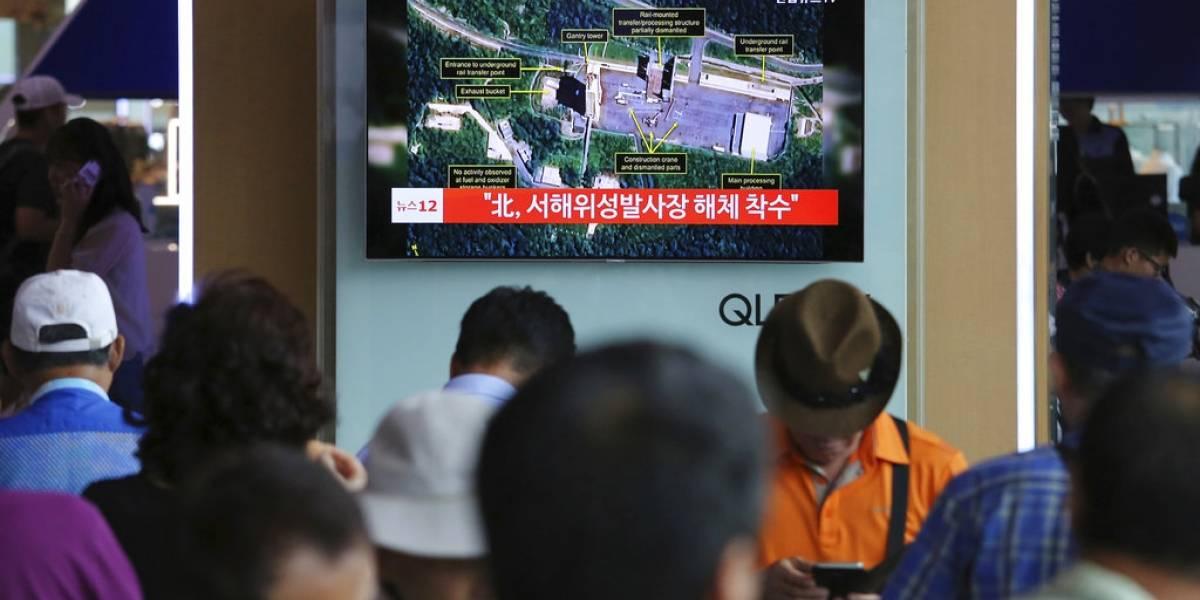 Corea del Norte desmantela instalación de pruebas de misiles