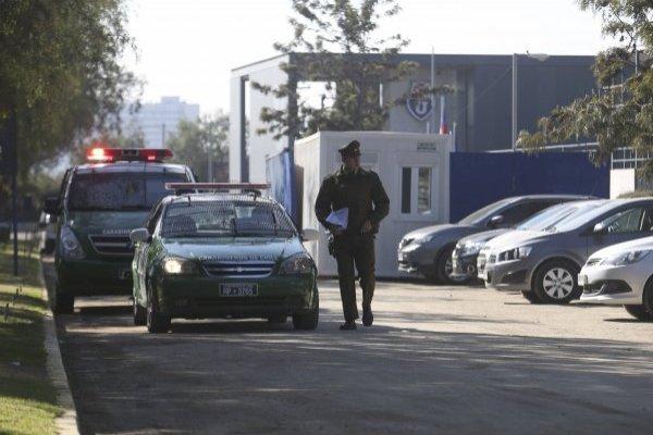 La balacera fue la noticia en el entrenamiento abierto del CDA / imagen: Agencia UNO