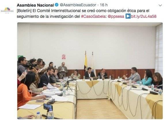 Tercer informe del caso Gabela se entregó a Rafael Correa, según José Serrano