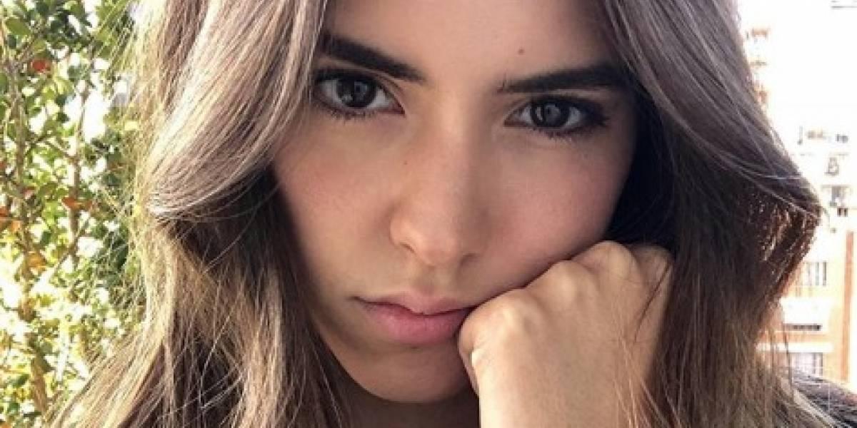 El susto que se llevó Paulina Vega con un policía