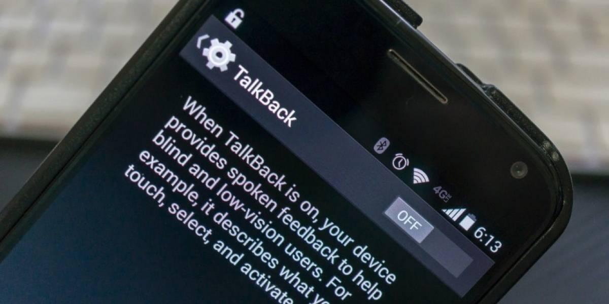 Qué demonios es TalkBack y cómo lo desactivo en mi móvil