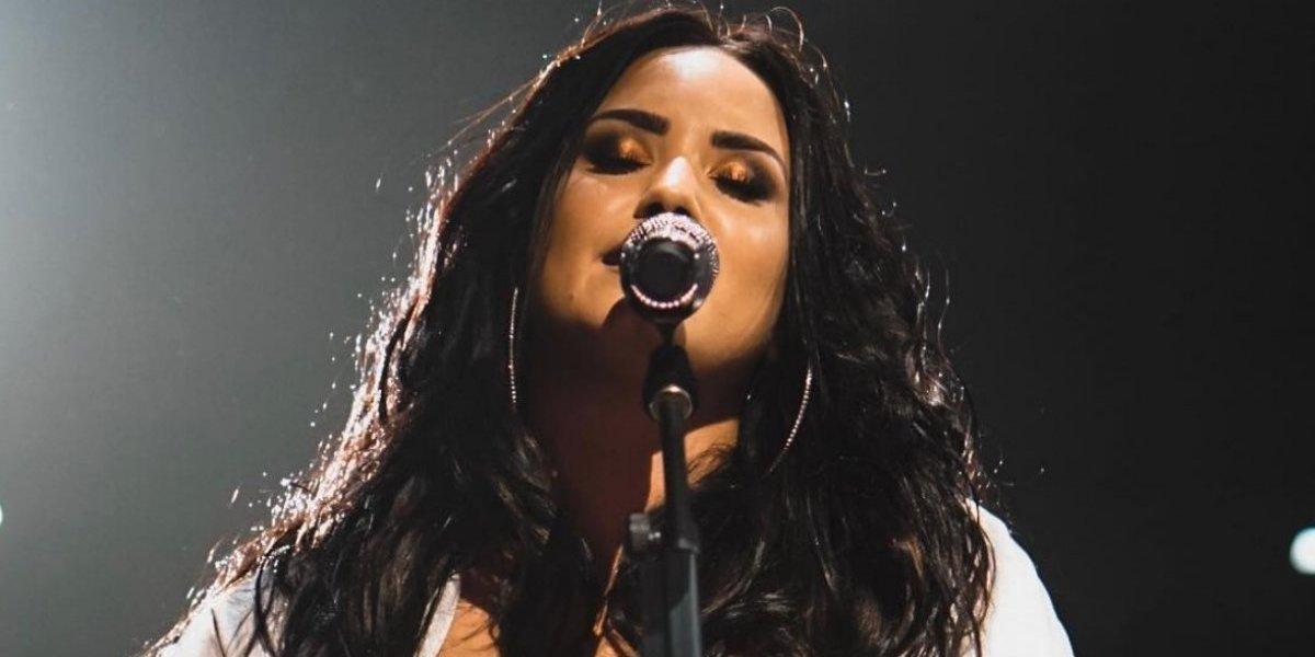 Esta es la canción donde Demi Lovato confiesa haber recaído en sus adicciones
