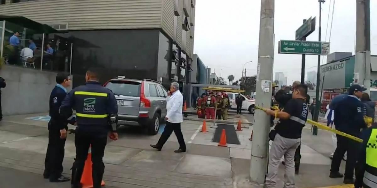 Ataque en clínica de Lima: al menos 20 personas heridas tras detonación de dos mochilas con explosivos