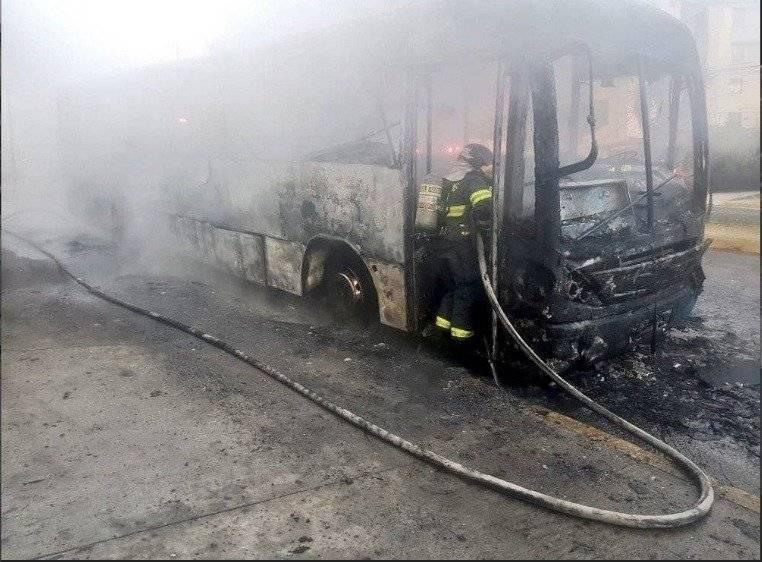 Quito: Se conocen los detalles del incendio de bus en Miraflores ECU 911