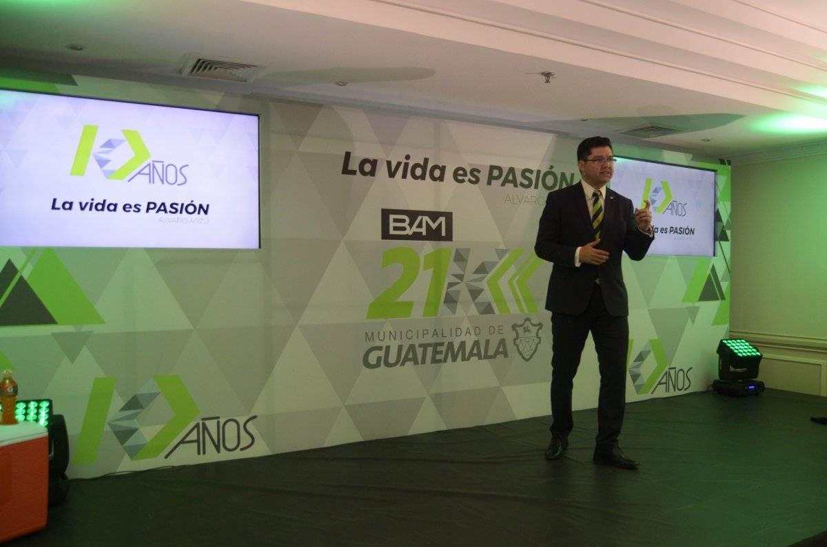 Carlos Sandoval vocero de la Municipalidad.