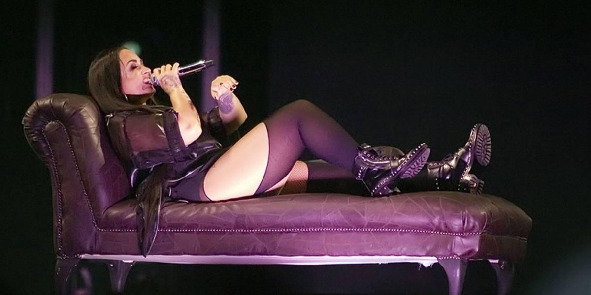 ¡Trágico! La última foto de Demi Lovato antes de ser hospitalizada por sobredosis de heroína