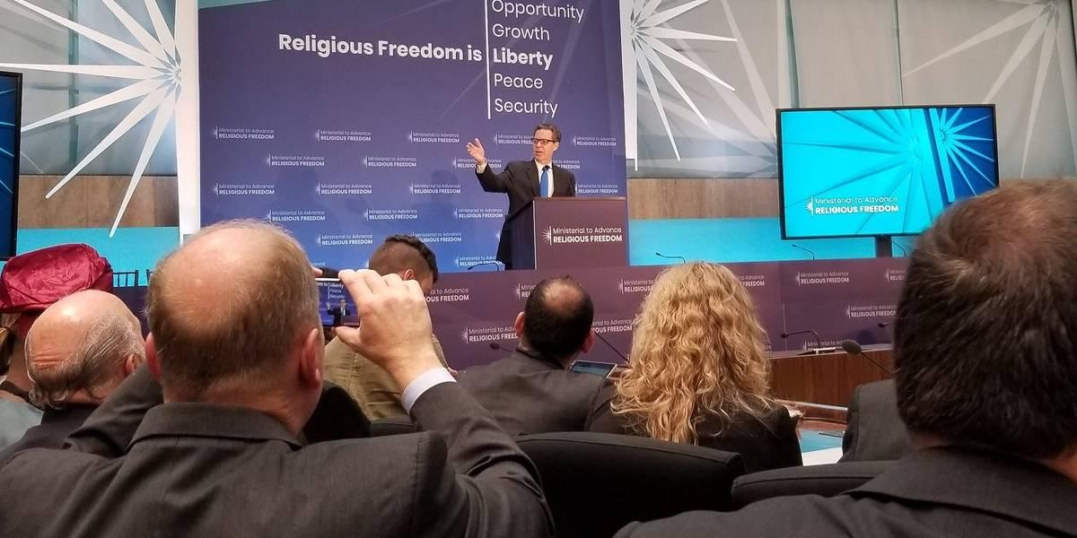 Reunión en Washington para defender la libertad religiosa en el mundo