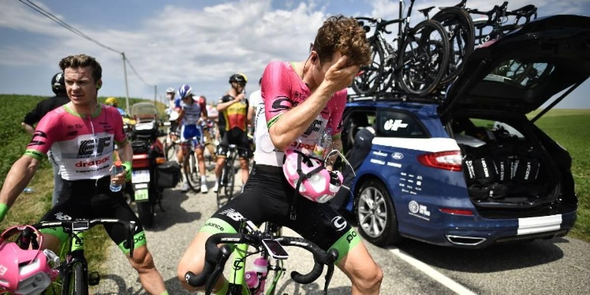 Gases lacrimógenos irrumpen en la etapa 16 del Tour de Francia
