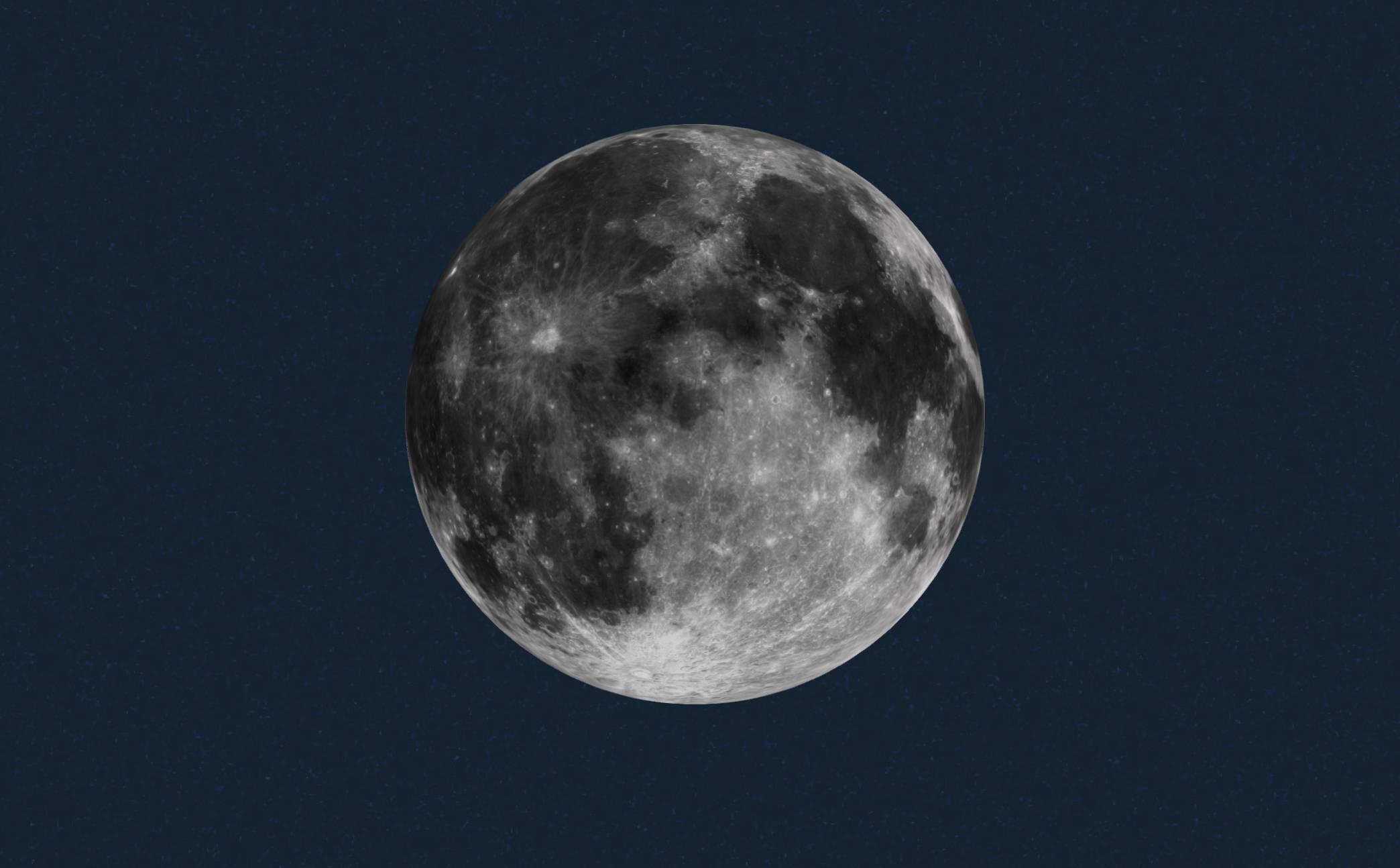 La Luna podría haber sido habitable hace 4.000 millones de años