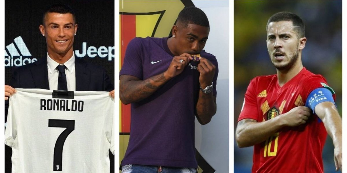 Así van los fichajes del futbol europeo para la temporada 2018-2019