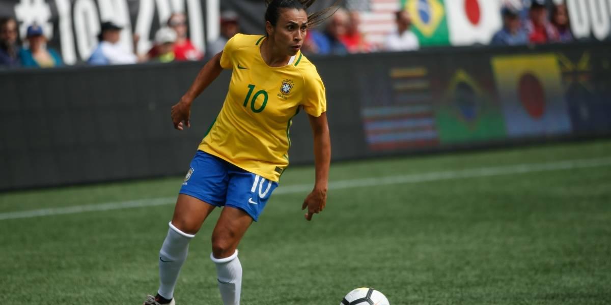 Marta é indicada a prêmio da Fifa e buscará sexto troféu de melhor do mundo