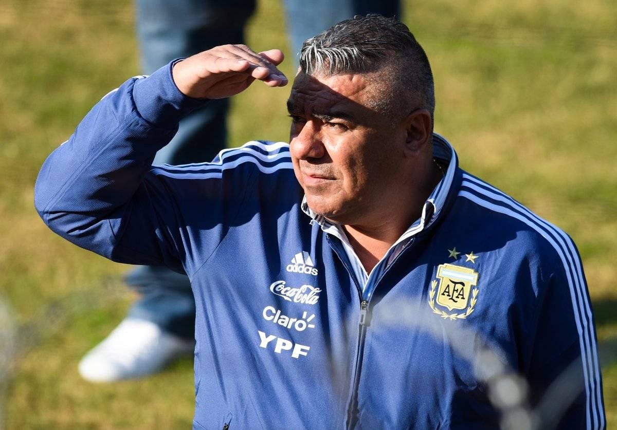Chiqui Tapia ve un buen horizonte en Argentina / imagen: Getty Images
