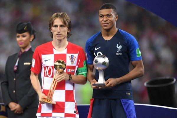 Modric y Mbappé encabezan el listado / imagen: Getty Images