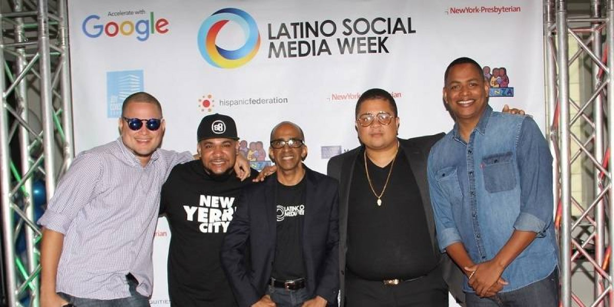 "Google recibió a ritmo de merengue y bachata invitados ""Latino Social Media Week"""