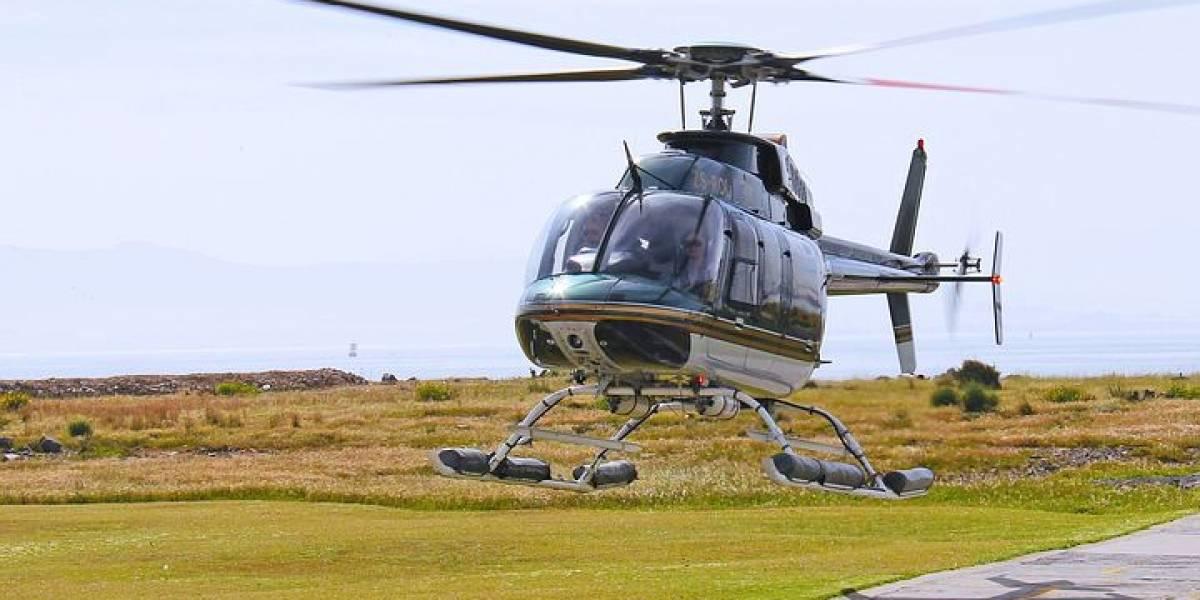 Ahora podrás pedir viajes en helicóptero en México gracias a Cabify y Voom