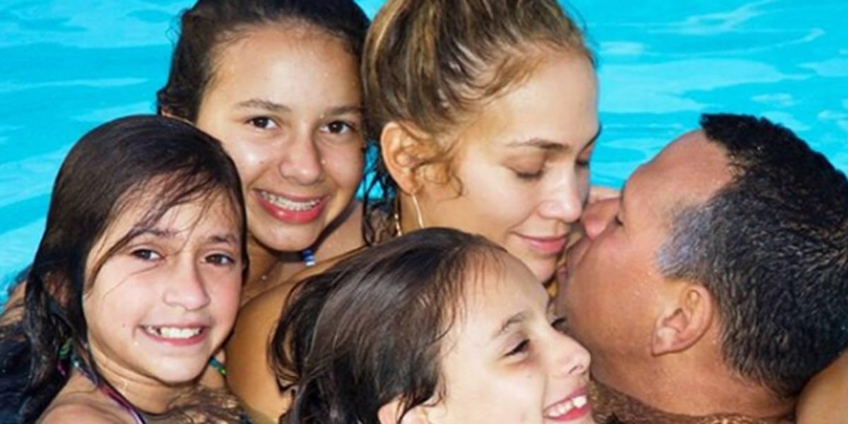 Las fotos familiares de Jennifer Lopez que demuestran que se encuentra en su mejor momento