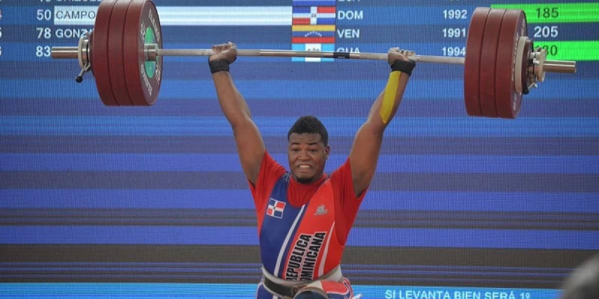 Juan Luis Campos conquista la medalla de bronce en envión