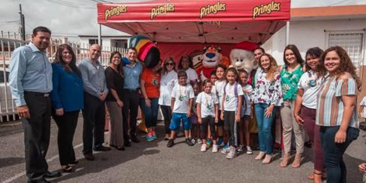 Centro Niños de Nueva Esperanza recibe visita de Kellogg's con desayuno y personajes