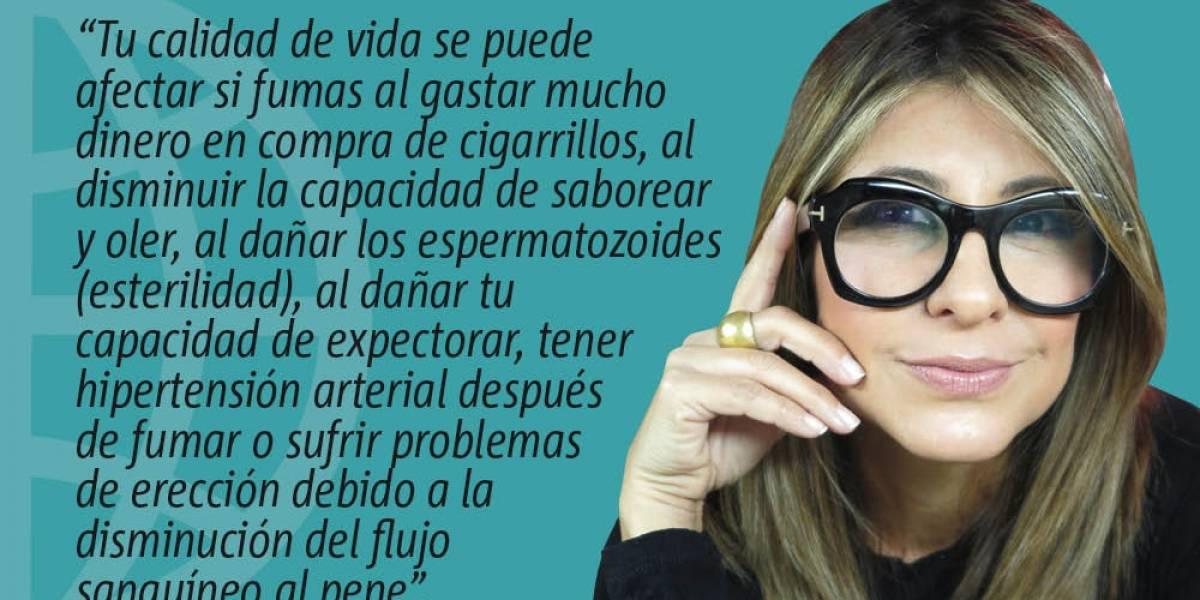Fumar tabaco destruye tu corazón y otras partes del cuerpo, deja eso