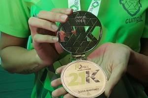 Medalla personalizada 21k 2018