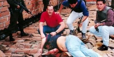 Agentes de la DEA capturan a Pablo Escobar