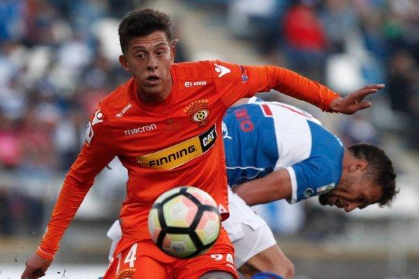 Pablo Parra tuvo una destacada presentación ante la UC en Copa Chile / Foto: Agencia UNO