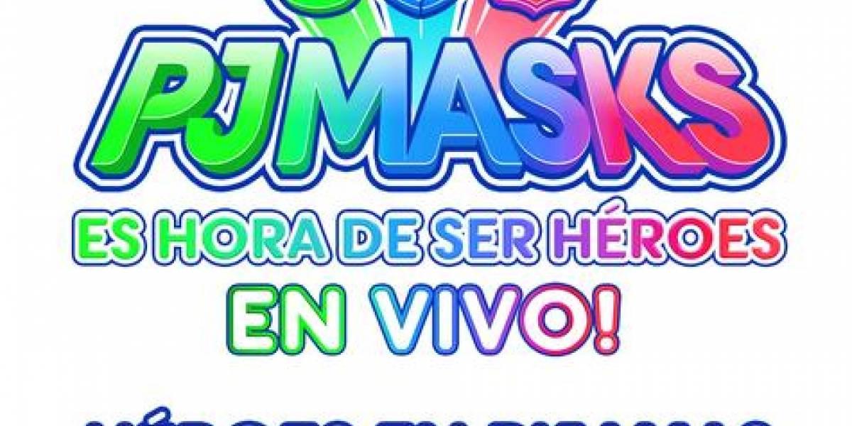 """""""PJ Masks - Héroes en Pijamas - en vivo!"""", del 5 al 7 de octubre en el Teatro Nacional"""