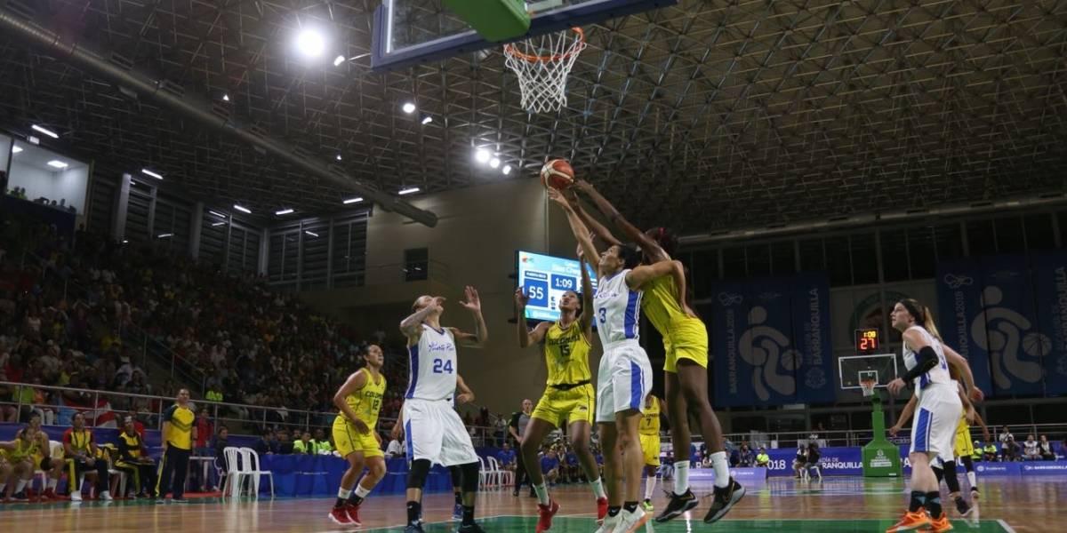 Colombia venció a Puerto Rico y avanzó a la final en baloncesto femenino en Centroamericanos