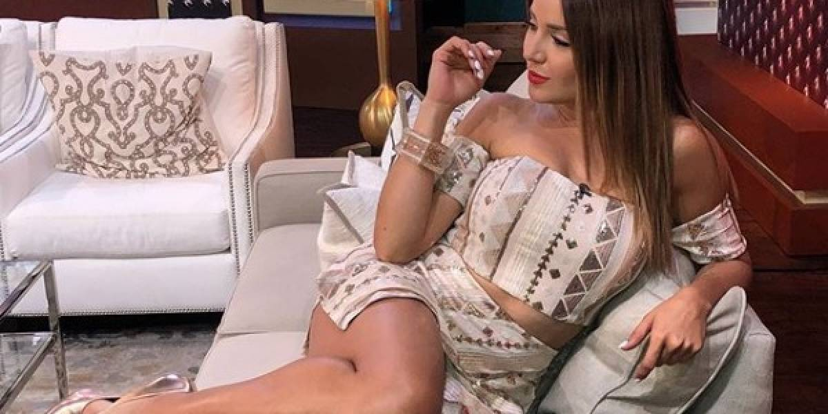 Gredmarie Colón aprovecha el verano para lucir su cuerpazo