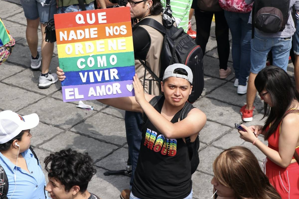 porque la homosexualidad no es una enfermedad