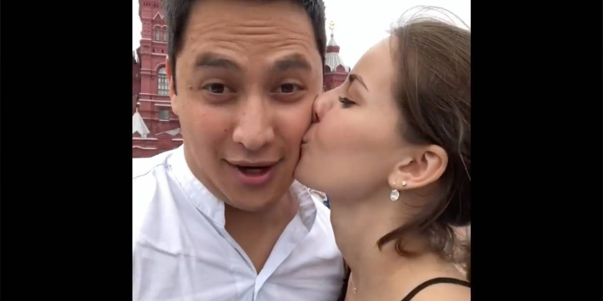 Mexicano se casará con mujer que conoció en Rusia 2018
