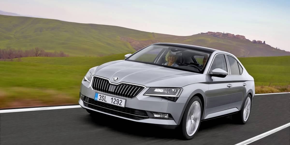 En Alemania, el Škoda Superb se impone como el mejor sedán importado